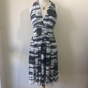 Calvin Klein pleated dress